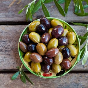 Plate With Olives