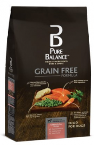 Pure Balance 24 Pounds Grain Free Formula Natural Salmon & Pea Dry Dog Food