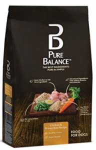 Pure Balance Dog Food, Chicken & Brown Rice Recipe