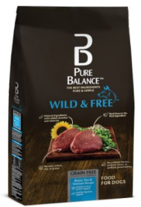Pure Balance Wild & Free Bison, Pea & Venison Recipe Food for Dogs