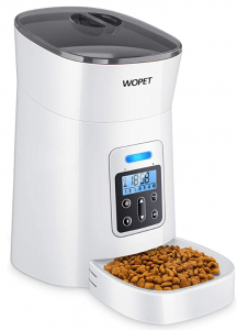 WOPET 6 Automatic Dispenser Distribution Programmable Meal Pet Feeder