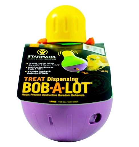 StarMark Bob-A-Lot Interactive Dog Toys for Large Dogs