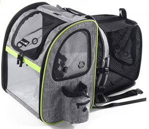 Petcute Expandable Backpack