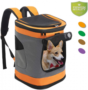 Pet Carrier Backpack for Small Medium Dogs