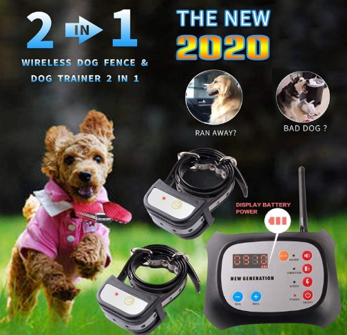 JUSTPET Wireless Dog Fence