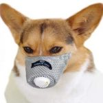 Linkinghome Dog Respirator Muzzle, Soft Breathable Cotton Dog Muzzle
