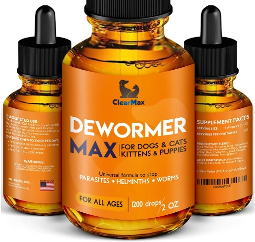 Dewormer for Dogs by Clear Max