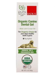 Pura Naturals Pet - Organic Canine Dental Gel, Natural Dog Toothpaste, No Harsh Ingredients, Eco-Friendly