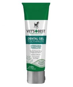Dog Dental Care Gel Toothpaste Plaque and Tartar Fighter from Vet's Best 3.5 ounce Made in USA