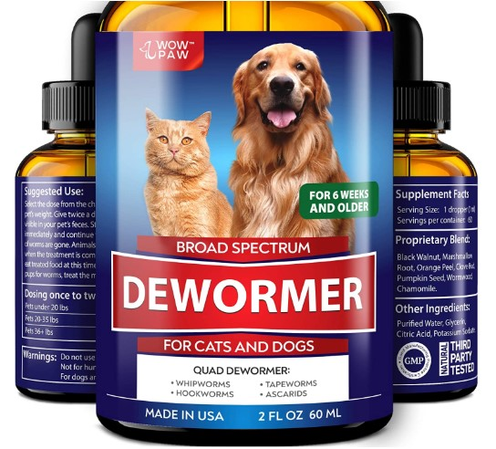 Wowpaw Dewormer for Dogs