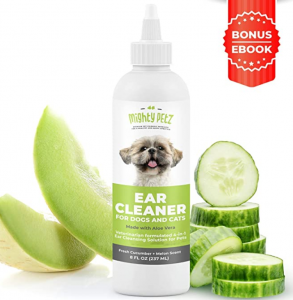 4-in-1 Dog Ear Cleaner – Vet Formulated Cleansing Solution