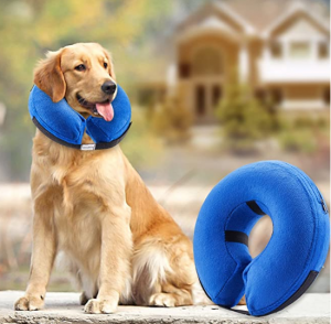BENCMATE Protective Inflatable Dog Cone Collar