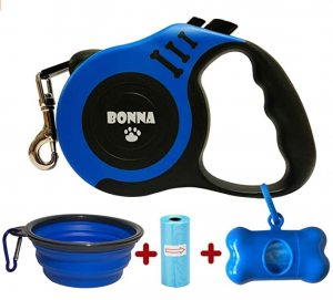 Bonna Retractable Dog Leash for Medium - Small Dogs