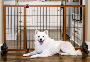 Carlson Freestanding Pet Gate