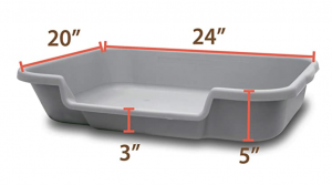 Puppy Pan Dog Litter Boxes