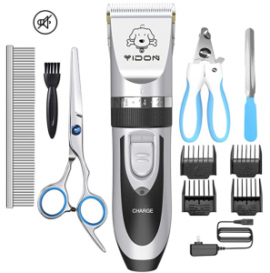 YIDON Dog Clippers Low Noise Cordless