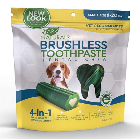 Ark Naturals Dog Dental Chews for Small Breeds
