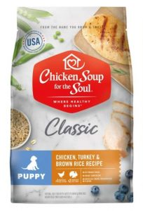 Chicken Soup for the Soul Dry Puppy Food- Chicken, Turkey & Brown Rice Recipe