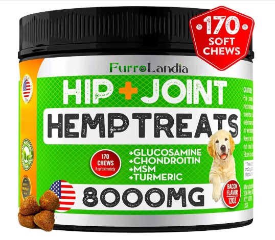 FurroLandia Hemp Hip & Joint Supplement for Dogs