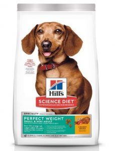 Hill's Science Diet Adult Perfect Weight Small & Mini Chicken Recipe Dry Dog Food