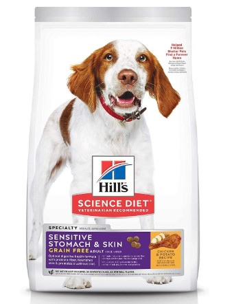 Hill's Science Diet Sensitive Stomach & Skin Grain Free Chicken & Potato Recipe Adult Dry Dog Food