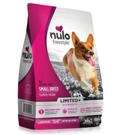 Nulo Puppy & Adult Small Breed Freestyle Limited Plus Grain Free Dry Dog Food: All Natural Limited Ingredient Diet for Digestive & Immune Health