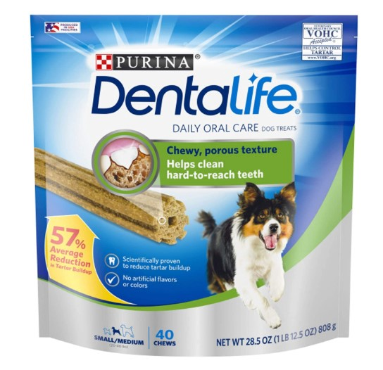 Purina DentaLife Small/Medium Adult Dog Treats