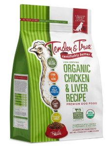 Tender & True Organic Chicken & Liver Recipe Dog Food