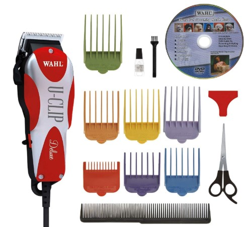 Wahl Professional Animal Deluxe U-Clip Pet, Dog, & Cat Clipper & Grooming Kit