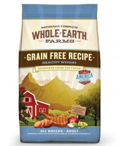 Whole Earth Farms Grain Free Weight Control Dry Dog Food