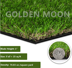 GOLDEN MOON Artificial Grass for Dogs
