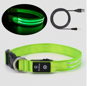 Led Dog Collar - 100% Waterproof