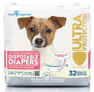 Paw Inspired Disposable Dog Diapers
