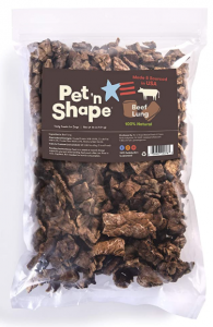 Pet 'n Shape Beef Lung Dog Treats – Made and Sourced in the USA