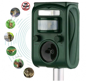 Ultrasonic Outdoor Dog Repellent