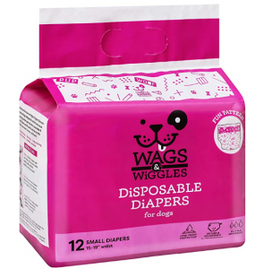Wags & Wiggles Female Dog Diapers and Male Dog Wraps