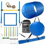 CHEERING PET Dog Agility Equipment, 28 Piece Dog Obstacle Course for Training and Interactive Play