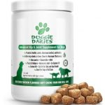 Doggie Dailies Glucosamine for Dogs, 225 Soft Chews, Advanced Hip and Joint Supplement for Dogs with Glucosamine
