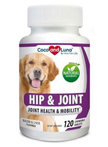 Glucosamine for Dogs, Hip and Joint Support for Dogs, MSM, Chondroitin, Pain Relief from Arthritis