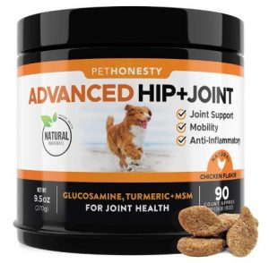 Glucosamine for Dogs - Dog Joint Supplement Support for Dogs with glucosamine Chondroitin
