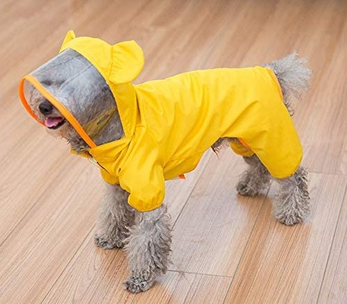 HAPEE Pet Dog Raincoat for Small Dogs