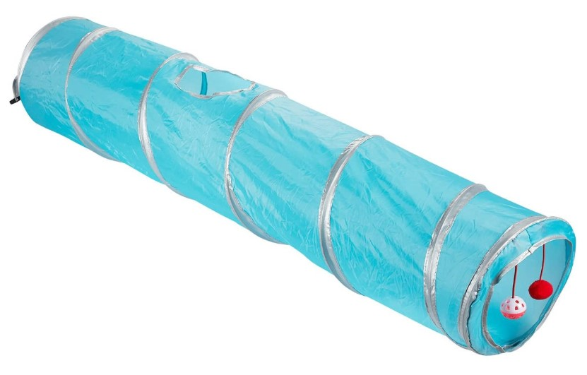 Juvale Pack of 1 Pet Agility Play Tunnel Tube Accessory Gift - Pet Training Toy for Small Pets