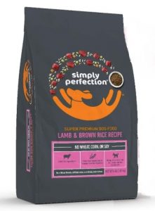 Simply Perfection Super Premium Lamb and Brown Rice Recipe