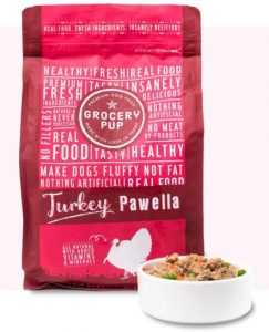 Grocery Pup Turkey Pawella raw dog food