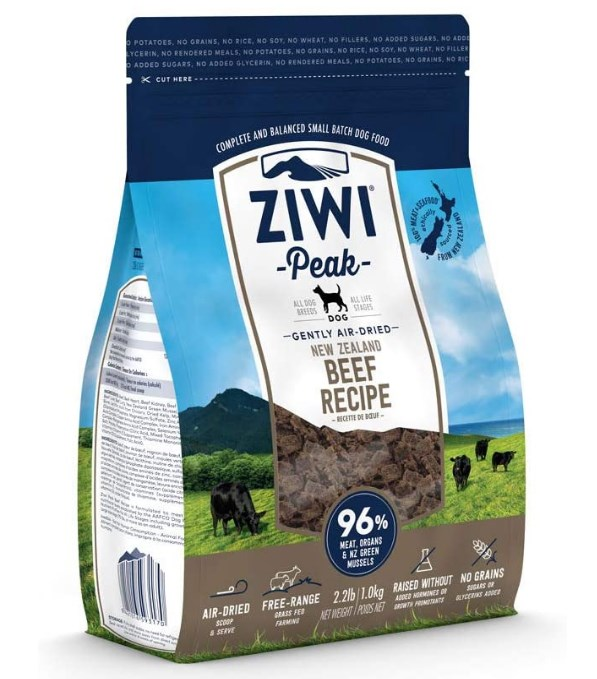 ZIWI Peak Air-Dried Dog Food & Topper Recipe