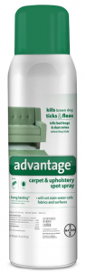 Advantage Flea, Tick and Bedbug Carpet and Upholstery Spot Spray