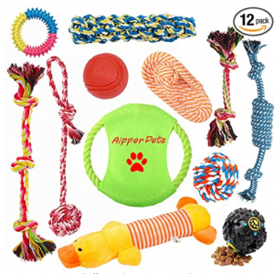 Aipper Dog Pup Toys 12 Pack