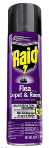 Raid Flea Killer Carpet and Room Spray