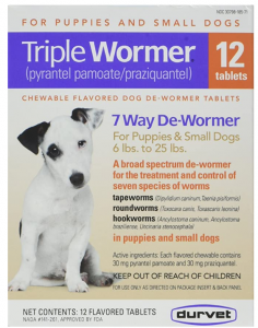 DURVET 12-Pack Triple Wormer Tablets