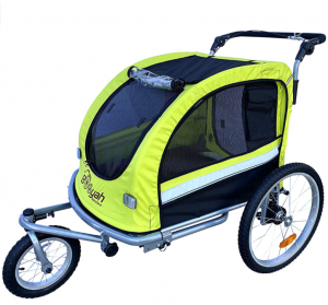 Booyah Large Pet Bike Trailer Dog Stroller